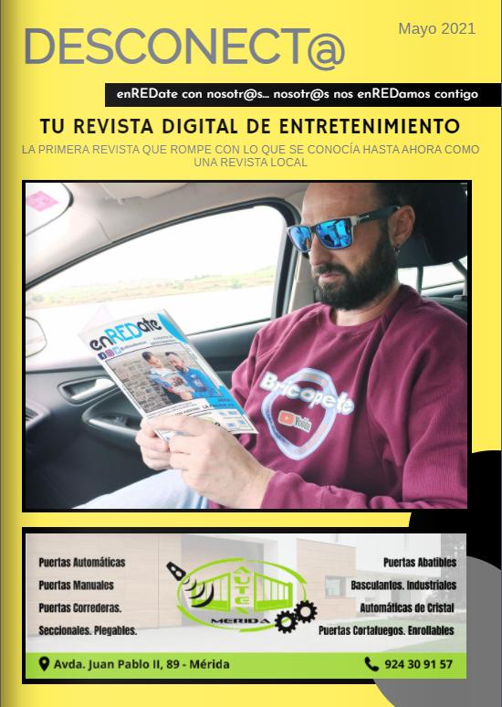 enREDate, enREDate y desconecta, Revista extremeña de ocio y entretenimiento, enredate de nueva fusión, nueva fusión, publicidad, marketing y comunicación en mérida